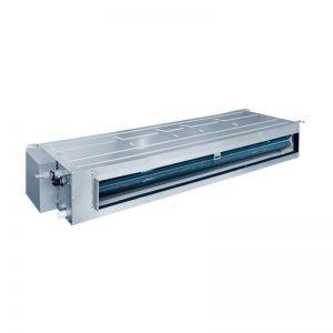 Kanaliniai split tipo oro kondicionieriai/šilumos siurbliai